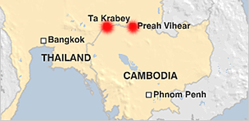 maps of thailand and cambodia. Thailand: War By Other Means